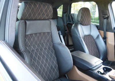 Recaro Sitz Porsche Cayenne