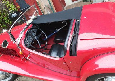 Persenning am Fiat Balilla