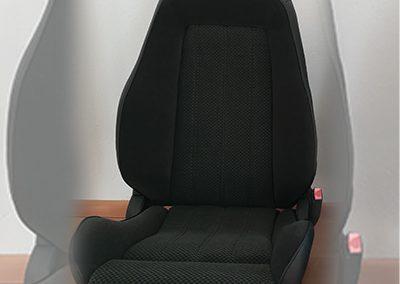 BMW E30 Neubezug Sitze - nachher 1