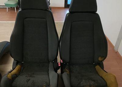 BMW E30 Neubezug Sitze -vorher 2