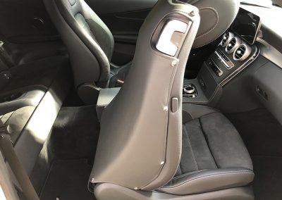 Schutzbezug Beifahrersitz - nachher 7