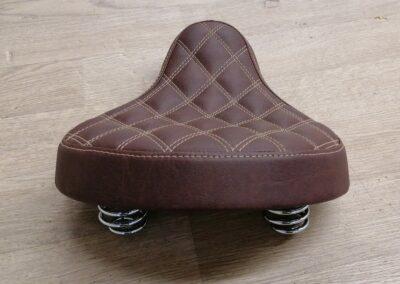 Motorrad-Sitzbank 2 cm aufgepolstert