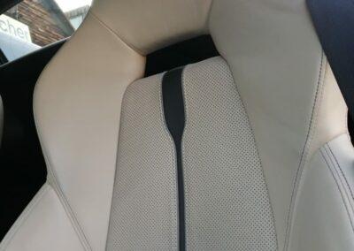 McLaren-Sitze weiß